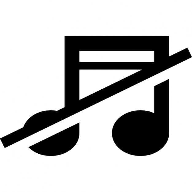 no-music-sign-of-musical-note-with-a-slash_318-56603