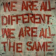 different same